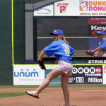 Kallie first -pitch-sea-dogs
