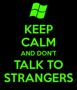 network-security-dont-talk-to-strangers
