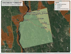 Impacts of Broadband policy on Greenbush